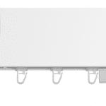 Top-line-koncovka SQUARE-biela lesklá